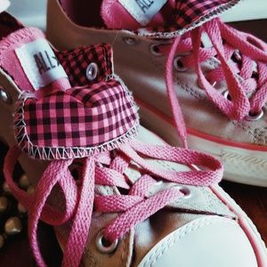 Converse Chuck Taylor | Checkered | Pink, Grey